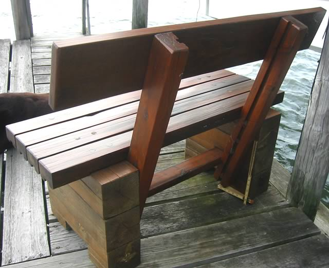 100 Dock Bench Dock Benches Boat Docks R T Construction Inc Bench Gallery Image On
